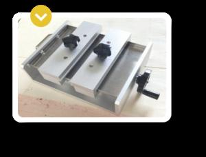 Accesorio de las maquinas laser de grabado y marcado Galvo-ACC Mordaza