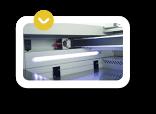 Iluminación LED de la máquina de corte laser CO2