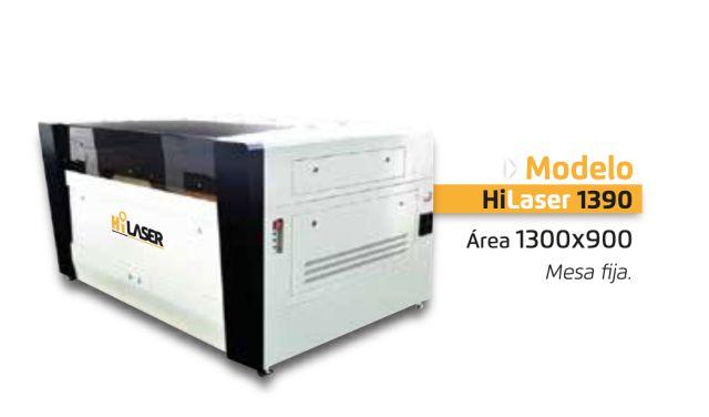 Modelo industrial Hi laser 1390 Soluciones de corte laser y grabado -Maquina de corte co2