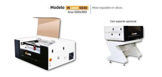 Soluciones de sobremesa Hi laser 50300 maquinas de corte laser co2
