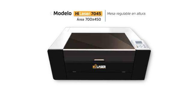Soluciones de sobremesa Hi laser 7045 maquinas de corte laser co2