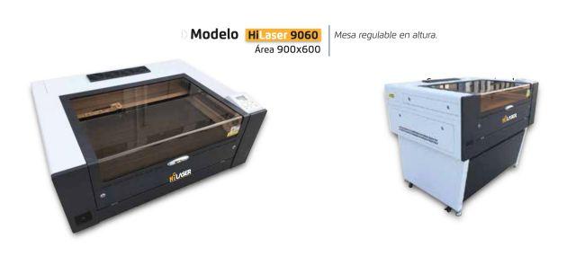 Soluciones de sobremesa Hi laser 9060 maquinas de corte laser co2