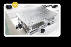 Accesorio de las maquinas laser de grabado y marcado Galvo-2D plataforma 2