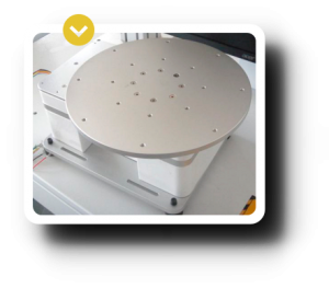Accesorio de las maquinas laser de grabado y marcado Galvo-2D plataforma 2-PLATFORMA GIRATORIA