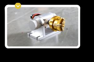 Accesorio de las maquinas laser de grabado y marcado Galvo-65mm2-50mm 2