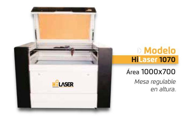 Modelo industrial Hi laser 1070 Soluciones de corte laser y grabado -Maquina de corte co2