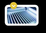 mesa de perfil de aluminio - características de las maquinas laser CO2